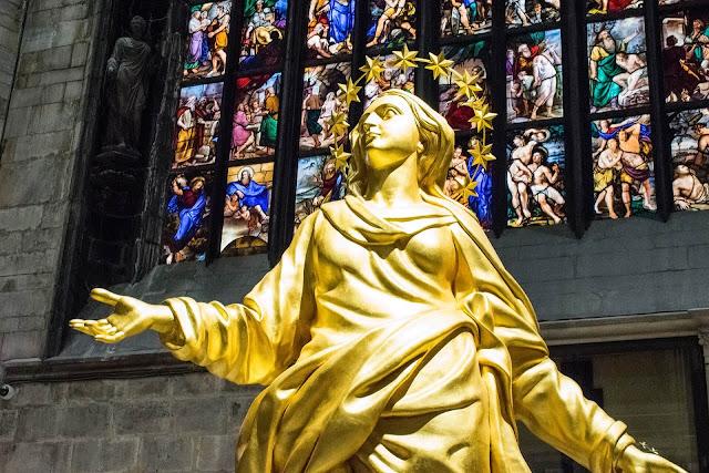 Interior Duomo Milán