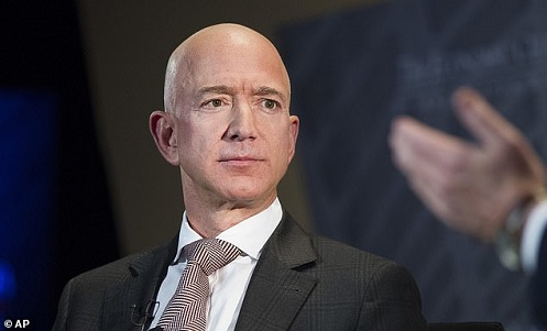Jeff Bezos fondatore di Amazon