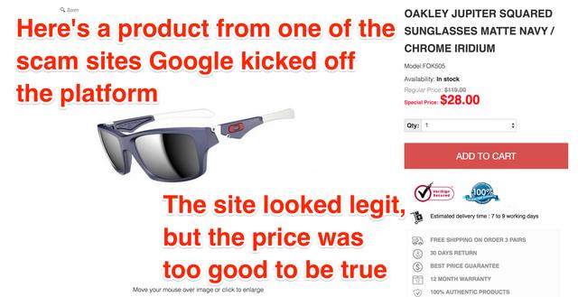 Nhân viên Google bị lừa khi mua hàng online tại Việt Nam