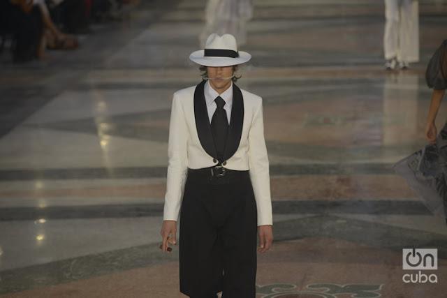 Prado pasarela: Chanel en la Habana Vieja
