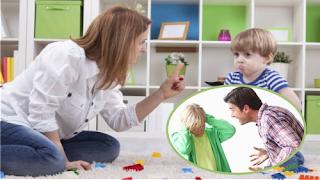 Palabras negativas a los hijos