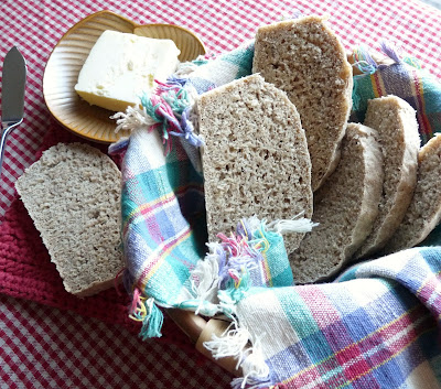 Slovakian Rye & Potato Bread with Caraway Seeds