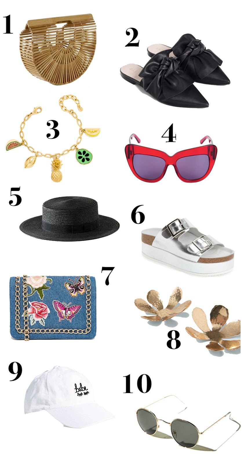 summer accessories under $150 2016