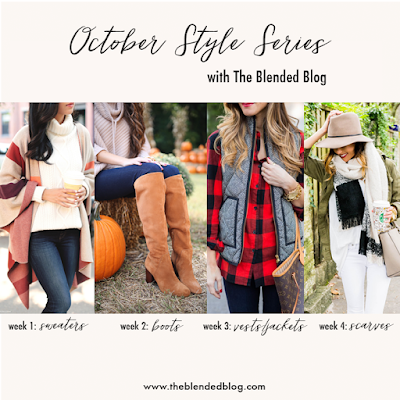 the blended blog october style series