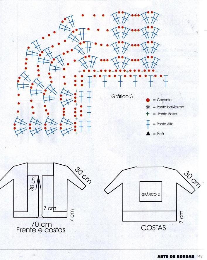 Patron Crochet Jersey Mandala Calado Patrones Crochet