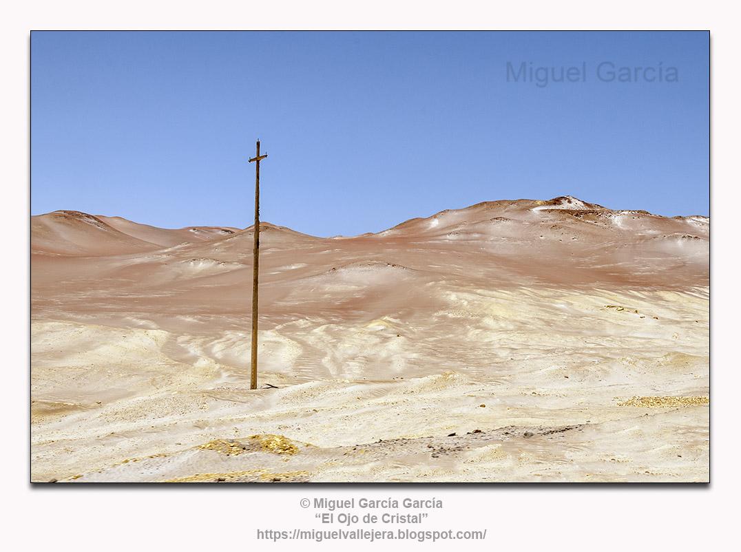 Desierto de Paracas, Pisco-Ica (Perú). Zona Arqueológica de Cerro Colorado.