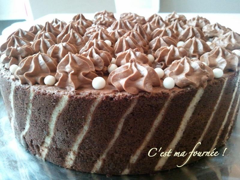 entremet poire chocolat caramel