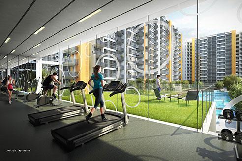 Westwood Residences - Gym