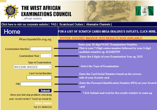 How to Check WAEC GCE Result Online Via www.waecdirect.org or SMS [Updated] price in nigeria