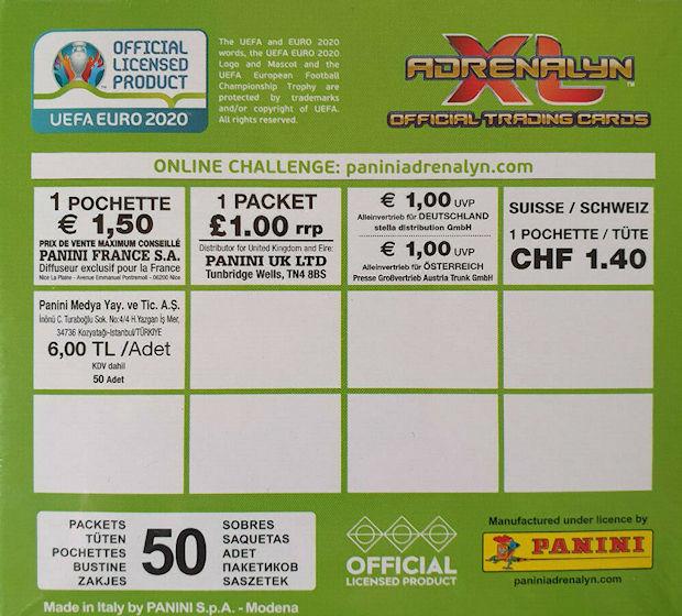 PANINI Women/'s EURO 2017 bustina Pack pochette!!! 1x Sac