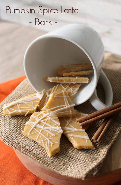 Pumpkin Spice Latte Bark