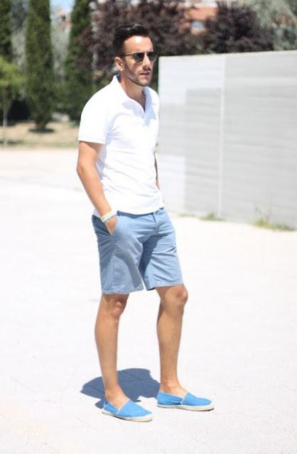 Look Masculino com Alpargata para o verão