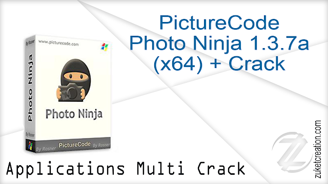 PictureCode Photo Ninja 1.3.7a (x64) + Crack