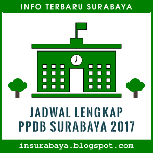 Jadwal lengkap PPDB Surabaya 2017