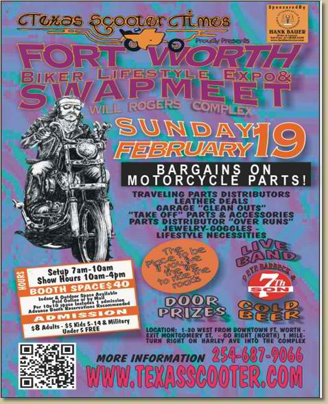 motorcycle swap meet texas 2012 election