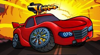 لعبة السيارة المحاربة
