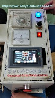 Đồng hồ nhiệt dạng núm xoay dùng trong máy cắt dây đai