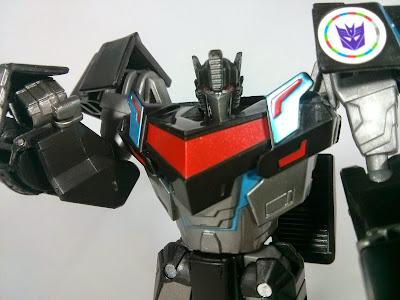 Transformers Adventure Nemesis Prime head