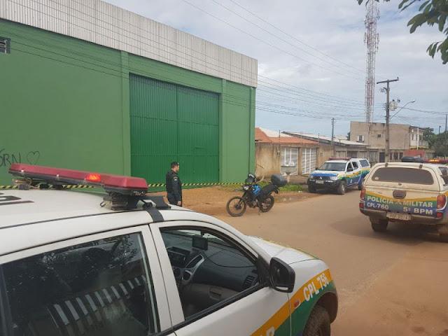 Policial aborda suspeito e acaba alvejado por tiros em Porto Velho