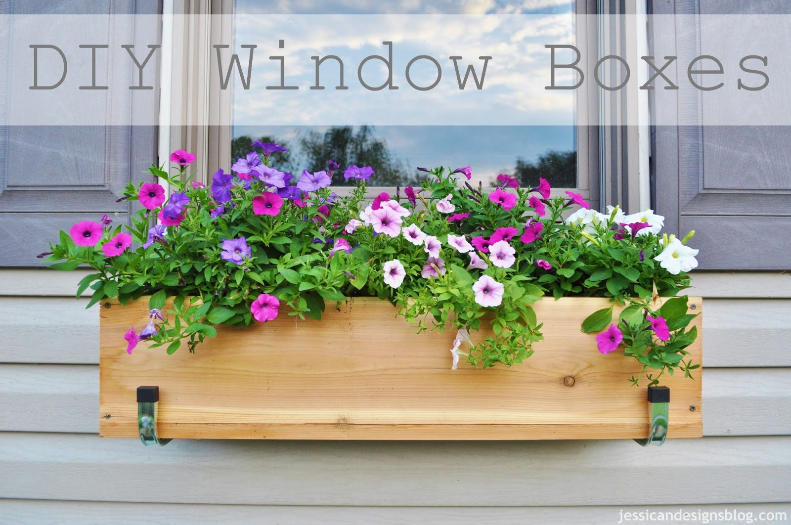 jessicaNdesigns: DIY Window Flower Boxes.