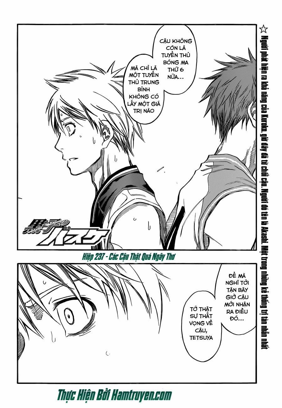 Kuroko No Basket chap 237 trang 5