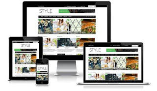 SALE Style - Premium Magazine Blogger Template - Style Blog