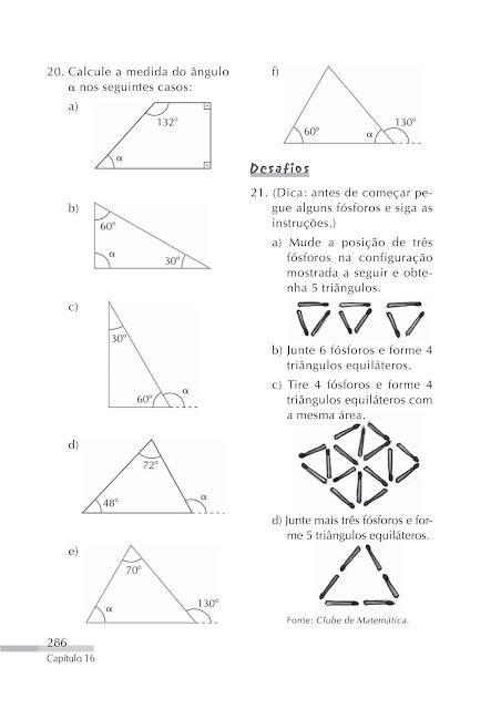 Triangulos exercicios