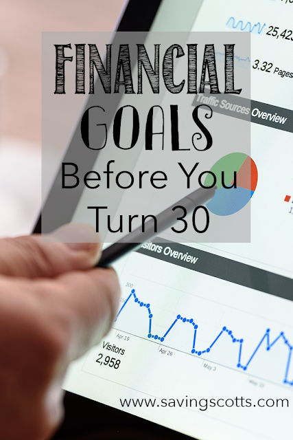 financial goals by 30