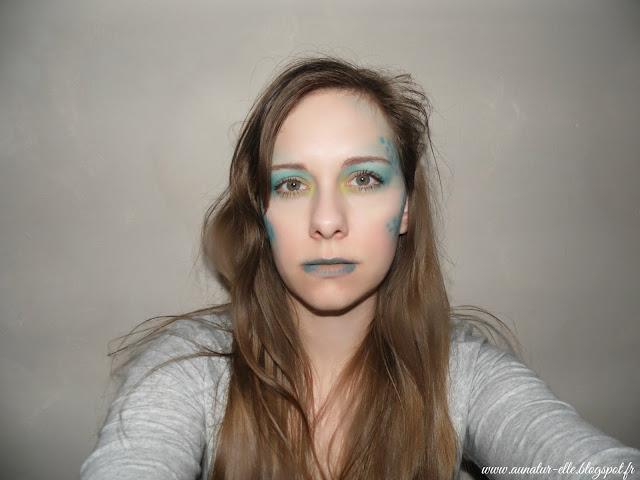 maquillage de sirène