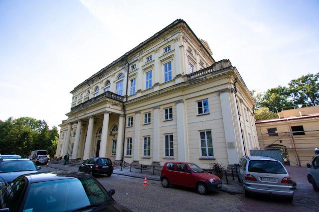 Giardino botanico-Parco Lazienki-Varsavia