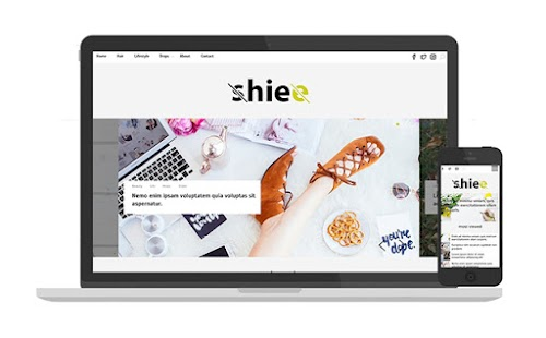 shiee blogger template responsive free 2018