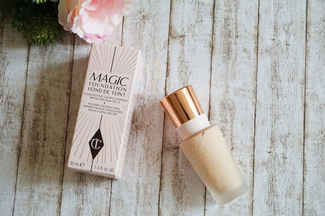 Review Charlotte Tilbury - Magic Foundation