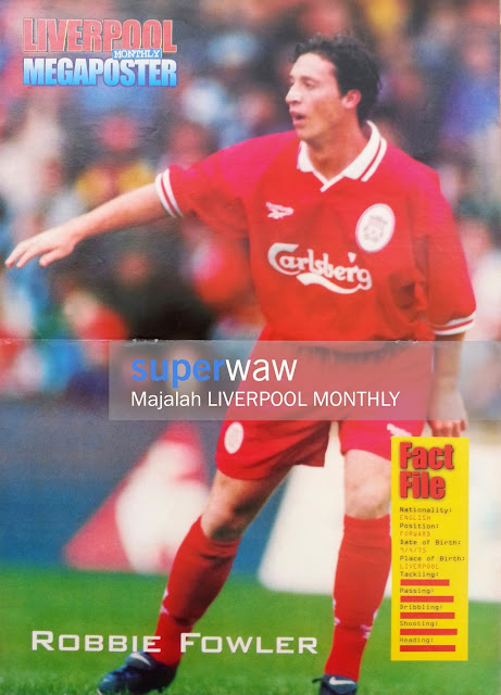 Poster Robbie Fowler Liverpool 1997