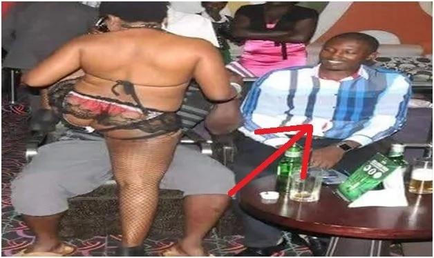 Ugandan lawmaker spotted in a strip club