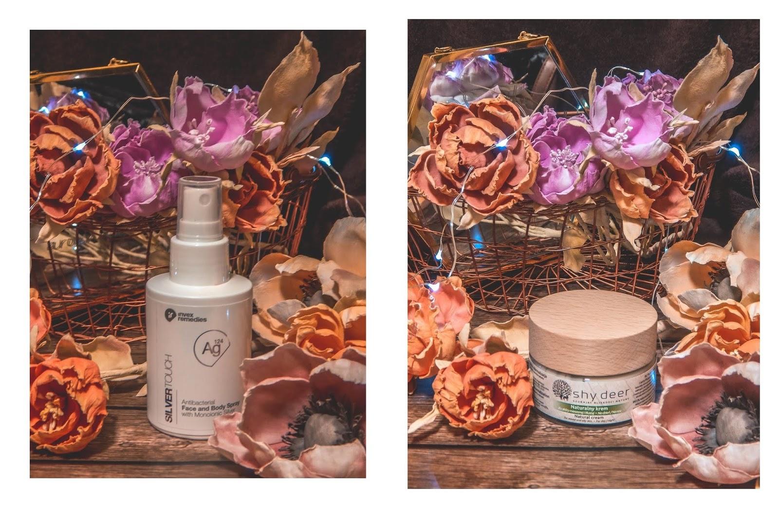 3a tonik resibo iossi peeling energetyczny ze srebrem aktywnym antybakteryjny do twarzy ciała shy deer krem do skóry mieszanej naturalne kosmetyki idealne na jesień pielęgnacja rezencja opinie cena