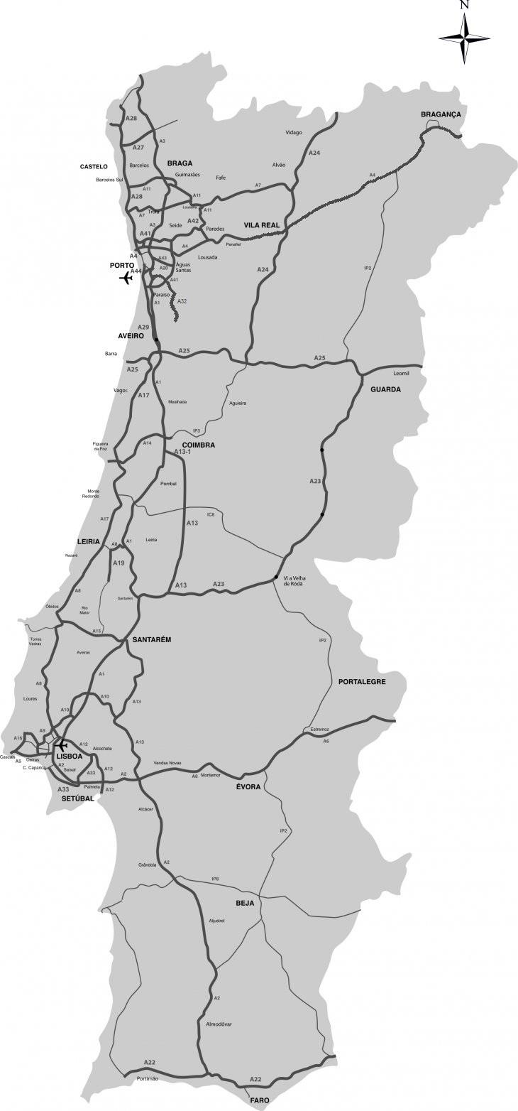 mapa de portugal ic5 Estradas de Portugal   SkyscraperCity mapa de portugal ic5