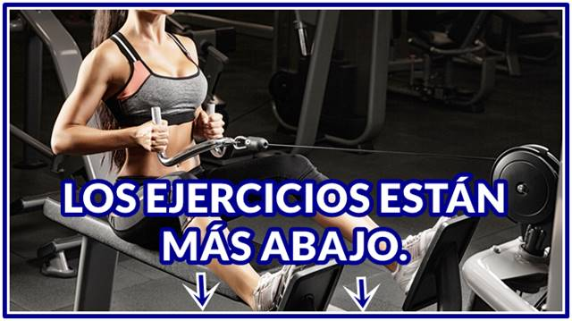 Rutina de pesas mujeres fitness