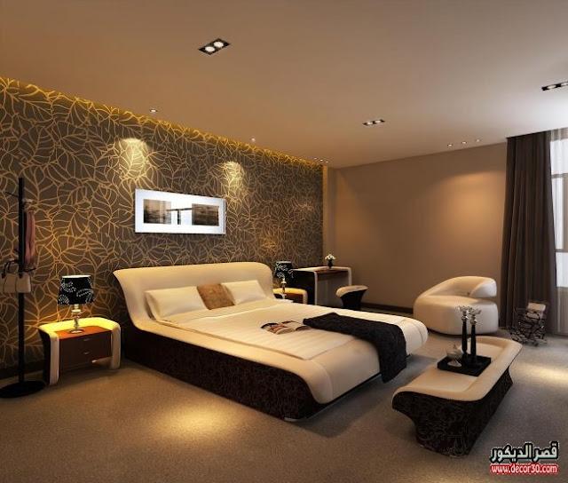 غرف نوم حديثة وفاخرة