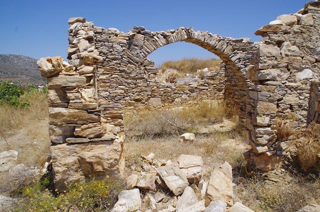 Paros Mountain Ruins