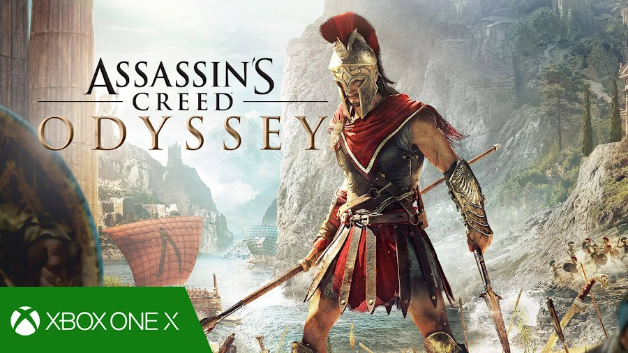 assassins creed odyssey xbox one x enhanced 4k