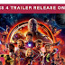 Avengers 4 trailer release on  Friday, December 7