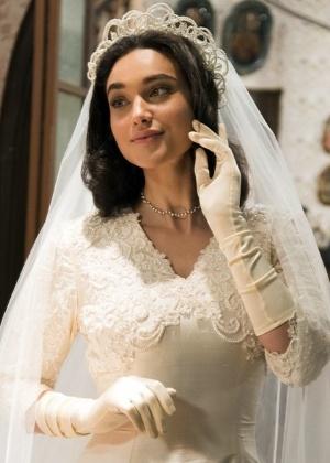 Vestido de noiva Filomena Eta mundo bom, casamento com candinho