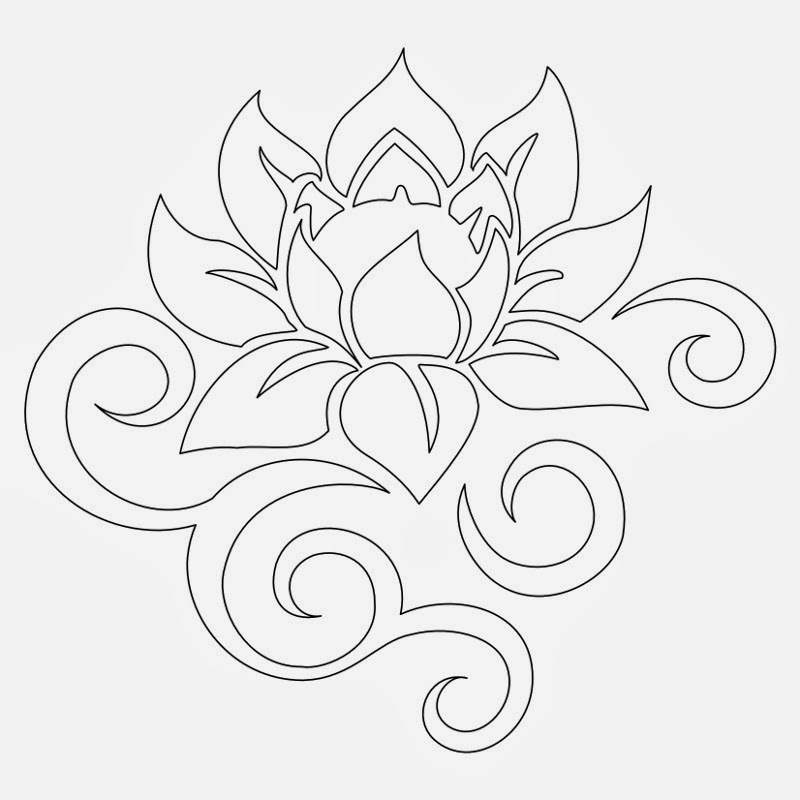 Tattoos Book: +2510 FREE Printable Tattoo Stencils: Lotus