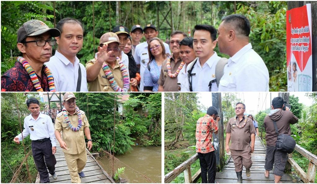 Pembangunan Jembatan Katap dan Peningkatan Jalan Masuk Renja 2018
