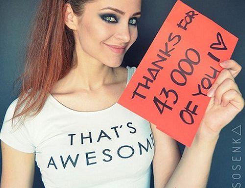 Justyna Sosnowska, sexy rusa que es una increíble cosplayer