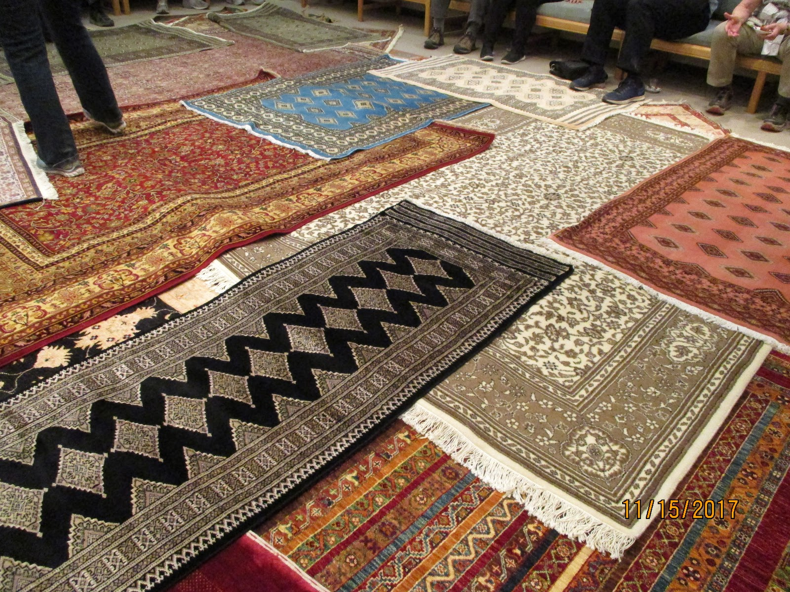 Another Site We Visited Was The Making Of Turkish Rugs I Now Know Why Are So Expensive There Hours Work That Go Into Them Especially If