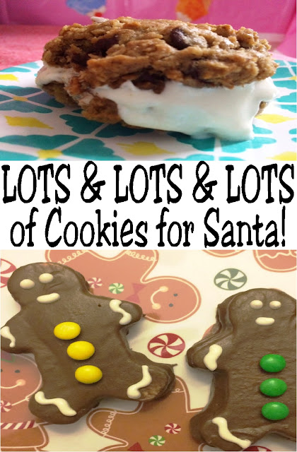 Treat Santa and the family to a new cookie this Christmas Eve with lots and lots and lots of Christmas Cookie recipes from your favorite bloggers.  #christmascookierecipe #cookiesforsanta #diypartymomblog