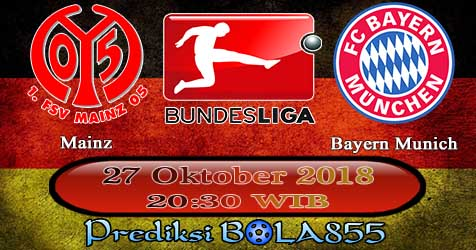 Prediksi Bola855 Mainz vs Bayern Munich 27 Oktober 2018