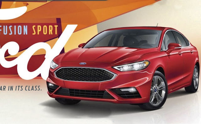 2018 Ford Fusion Sport Review