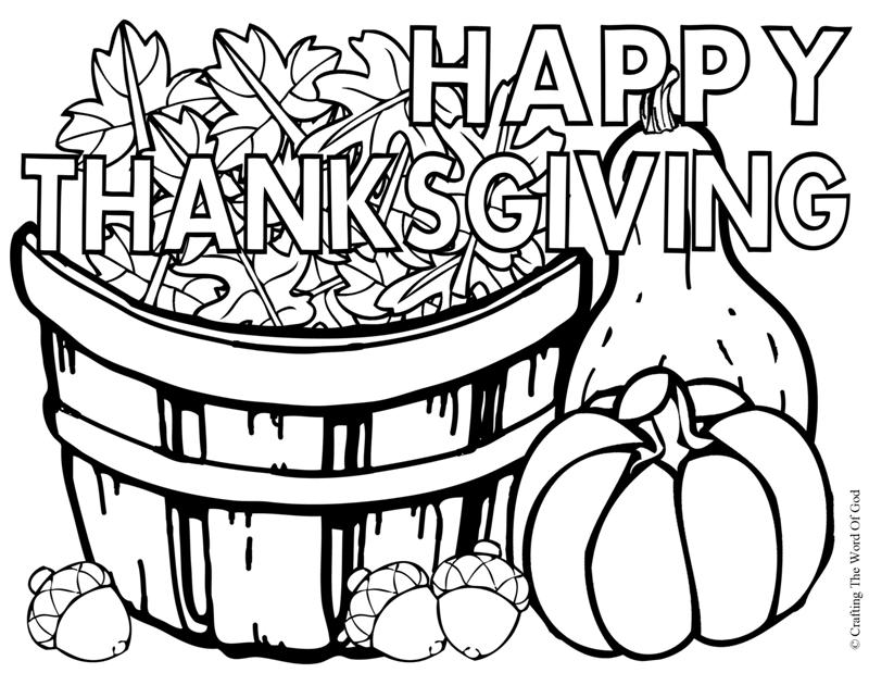 Free Thanksgiving Prints, Post Cards and Color Pages